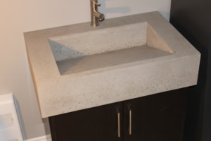 Concrete Wedge Sink